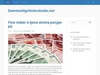 Sammenlignforbrukslån.net
