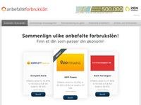 www.anbefalteforbrukslån.no