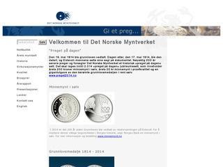 Myntverket.no