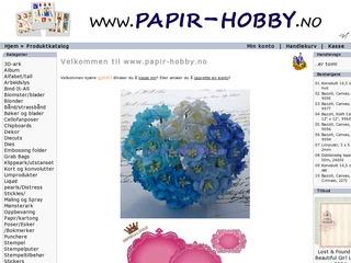 Papir-hobby.no