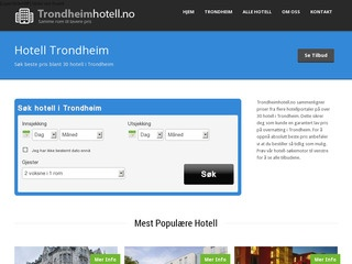 Trondheimhotell.no